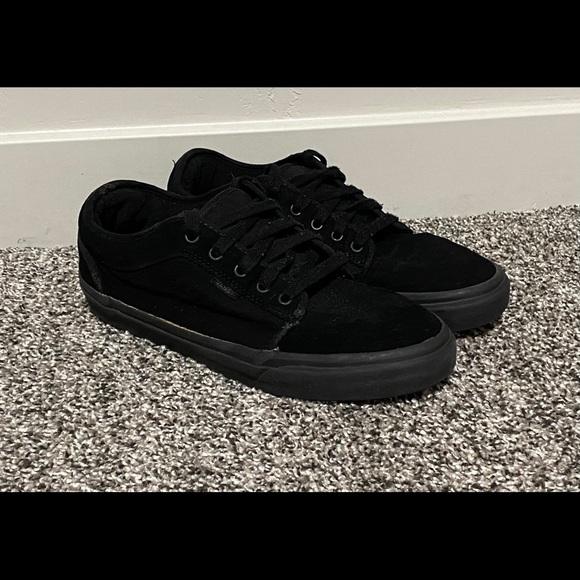 Vans Shoes | All Black Skate Board